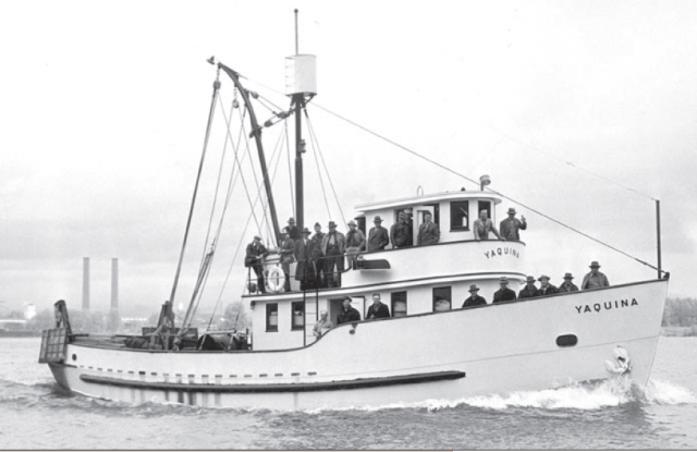 The Yaquina, photo courtesy of  Gunderson Marine.