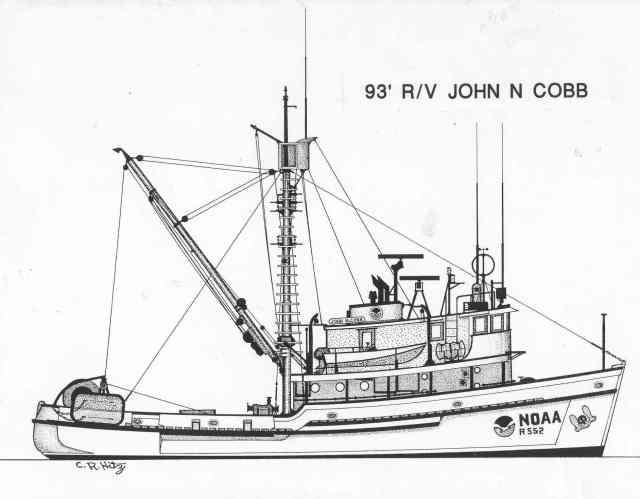 The R/V John N. Cobb