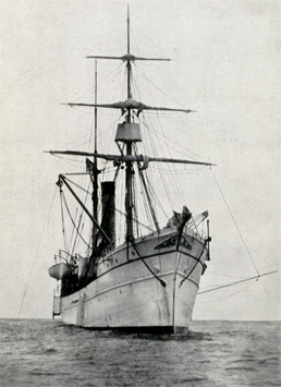 Built for the U.S. Fish Commission, the Albatross was launched in 1882 as the world's first large deep-sea oceanographic and fisheries research vessel.