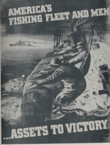Fishing and the war effort, 1943