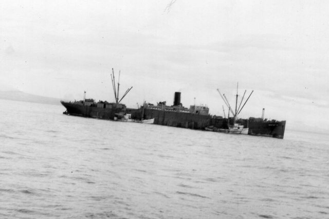 Pacific Explorer in the Bering Sea with Tordenskjold and   Pearl Harbor alongside.