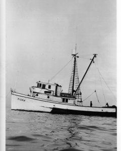 Kiska in Bering Sea