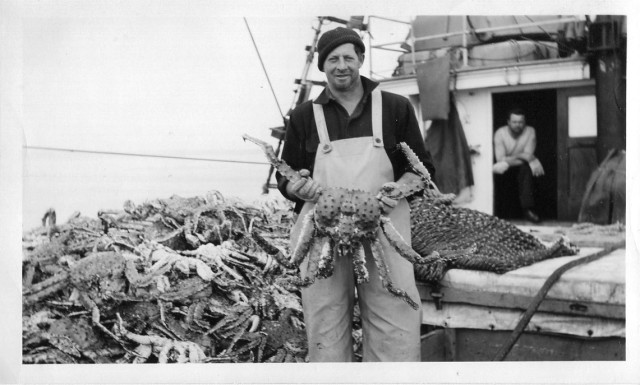 King Crab held by crew of Kiska