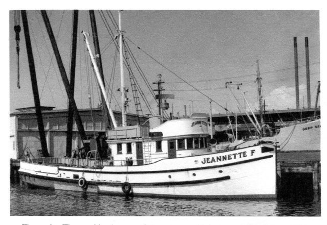 The Jeanette, photo courtesy of Puget Sound Maritime Historical Society