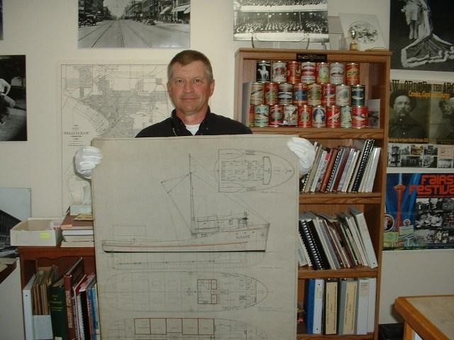 Jeff Jewell, curator, WCM, Bob Hitz photo