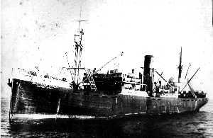 The Alma-Ata, converted at Portland to fish for king crab.