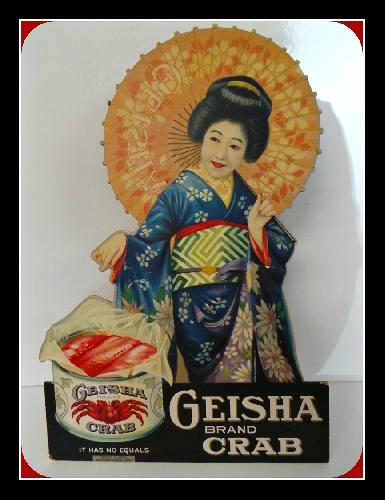 Japanese crab was exported to the U.S. under the Geisha label