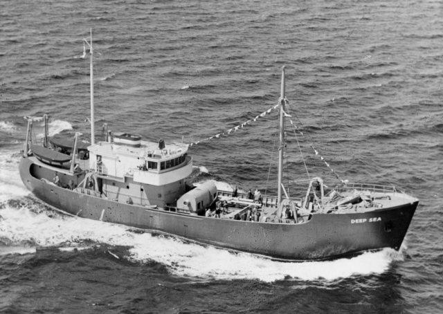 Deep Sea commissioning, FWS photo