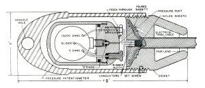 Sensor and pressure meter, FWS Drawing