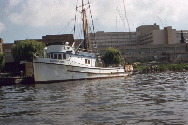 Commando, College of Fisheries in the Background                Hitz Photo
