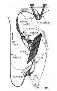 Drawing from Krake Fishery Leaflet (Krake drawing)