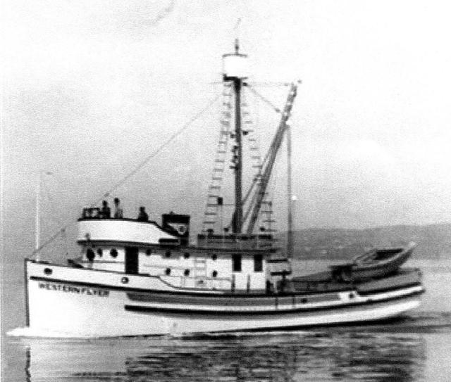 Western Flyer as constructed as a sardine seiner Petrich Photo