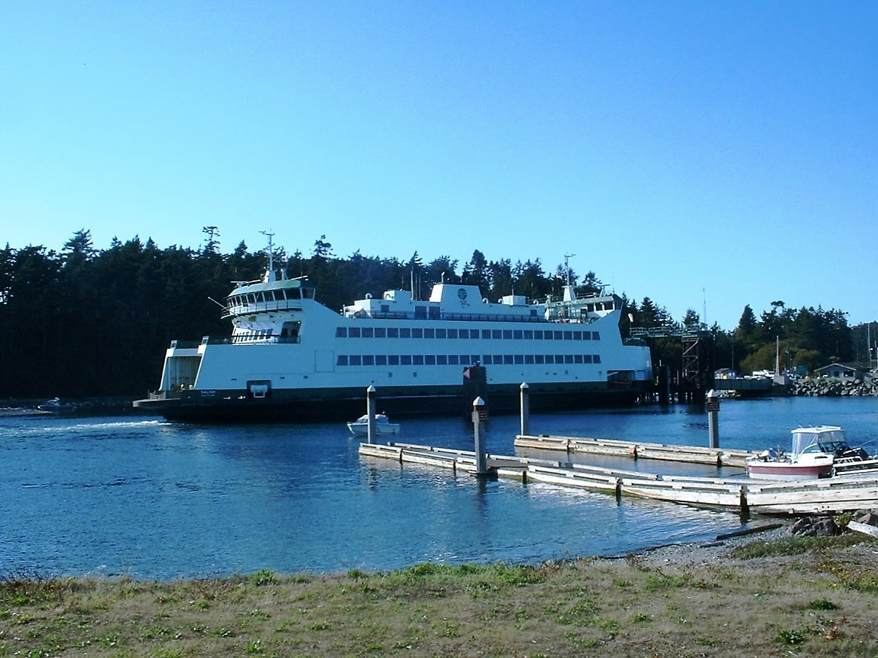 Whidbey Island Ferry Port Townsend