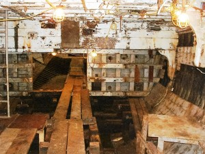 Engine room looking aft, Hitz Photo