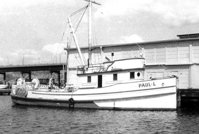 Luketa's Trawler Paul- L Pattie Photo